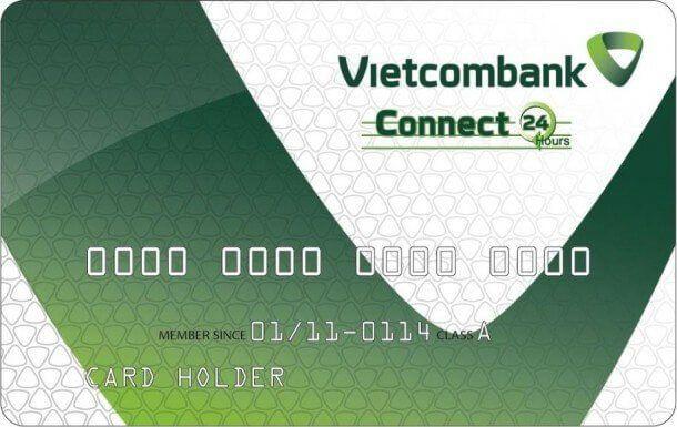 Thẻ ATM của Vietcombank