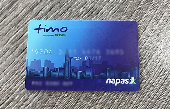Thẻ ATM Timo VPBank