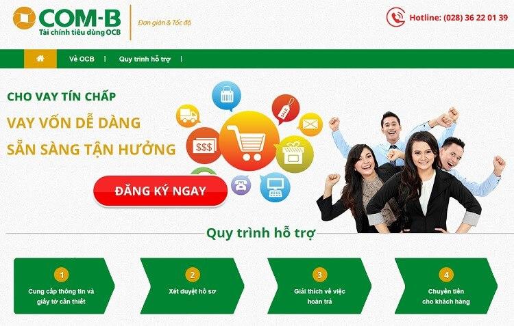 Dịch vụ cho vay tín chấp của ngân hàng OCB