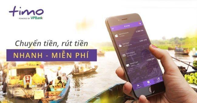 Hướng dẫn cách làm thẻ ATM Online Timo
