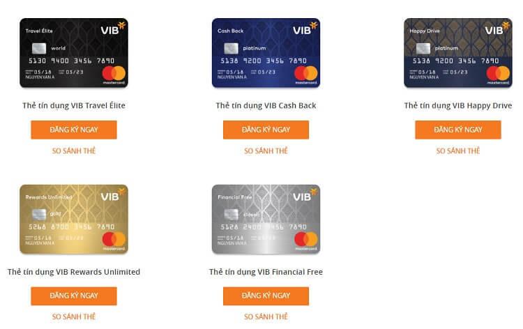 Có nên mở thẻ tín dụng VIB?