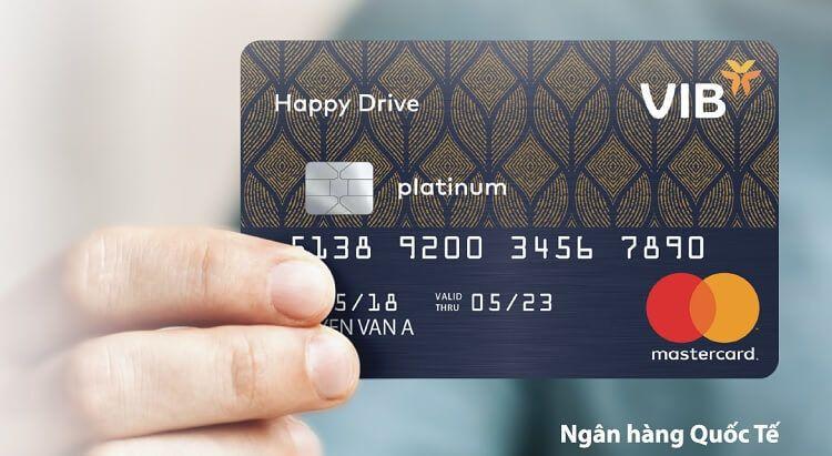 Thẻ tín dụng VIB Happy Drive dành nhiều ưu đãi cho chủ xe ô tô