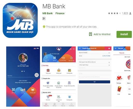 Ứng dụng MBBank