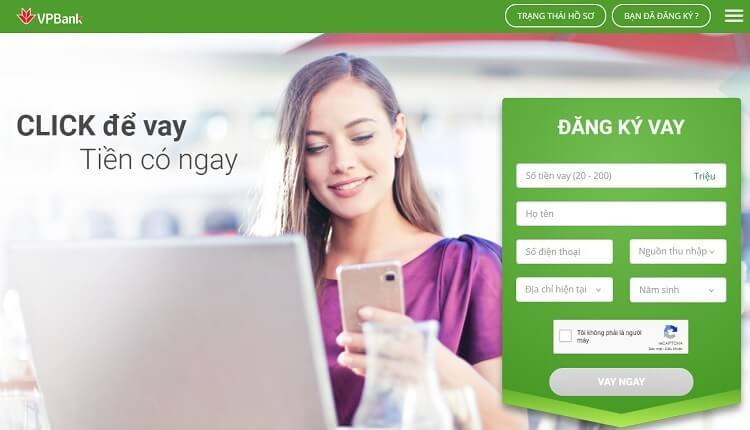 Bạn có thể vay tiền nóng VPBank online