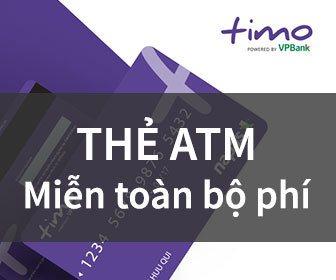 Thẻ ATM Miễn mọi loại phí