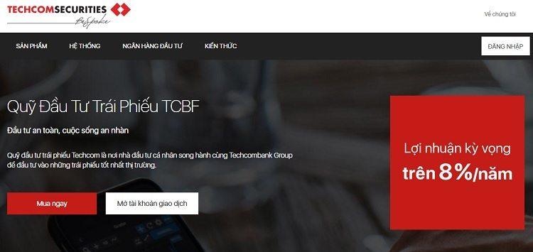 Quỹ đầu tư trái phiếu TCBF