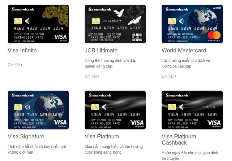 Điều kiện mở thẻ tín dụng Sacombank là gì?