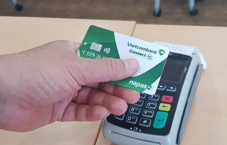 Thẻ ATM không tiếp xúc Vietcombank