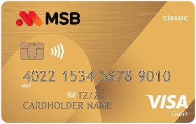 Thẻ ghi nợ MSB Visa