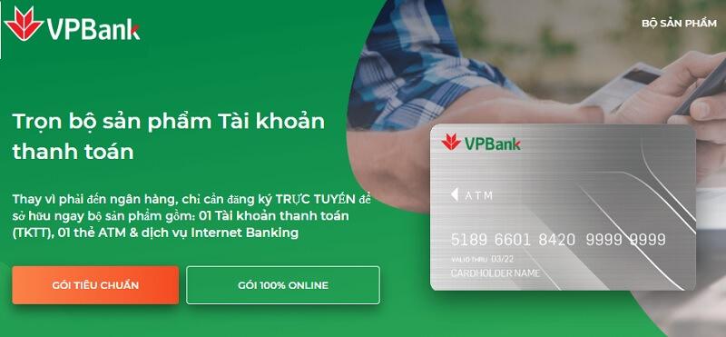 VPBank hỗ trợ mở tài khoản 100% online