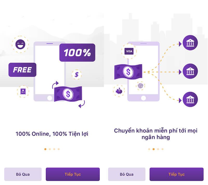 TPBank miễn phí chuyển tiền với tài khoản mở online