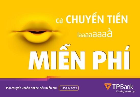 TPBank được nhiều khách hàng sử dụng vì miễn phí chuyển tiền và rút tiền ATM