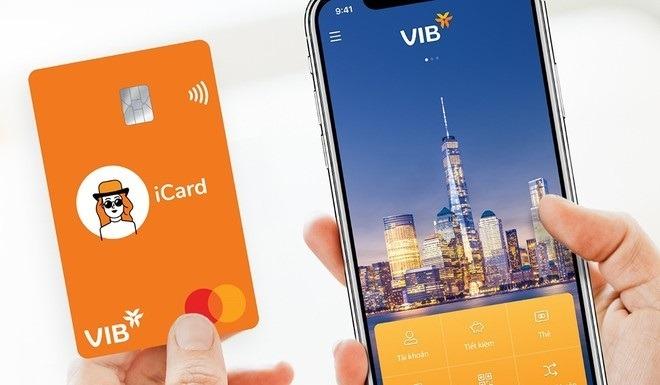 Gói sản phẩm VIB Digi bao gồm Tài khoản, ứng dụng và thẻ thanh toán