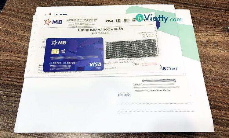Đăng ký mở thẻ ATM online, MBBank gửi thẻ về tận nhà