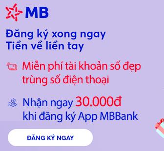 Mở tai khoan MBBank
