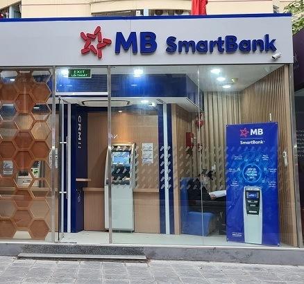 MB SmartBank có thể in thẻ 24/7